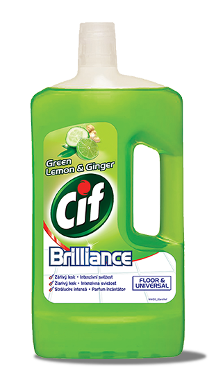 Cif Brilliance na podlahy Green Lemon & Ginger