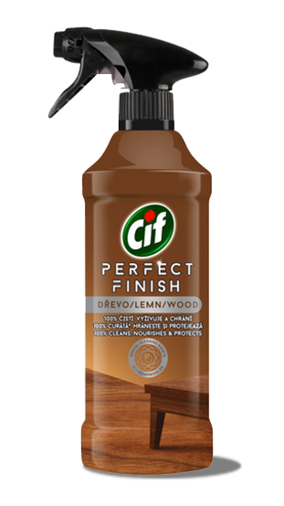 Cif Perfect Finish sprej na dřevo