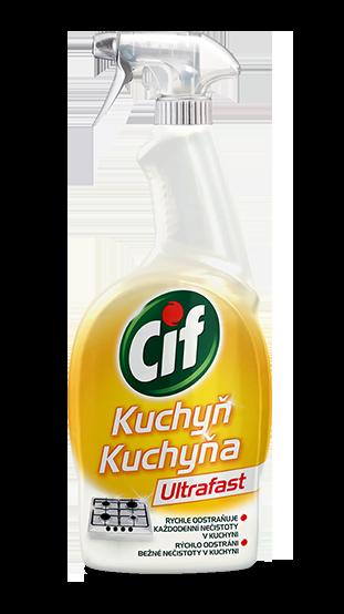 Cif Ultrafast sprej Kuchyň